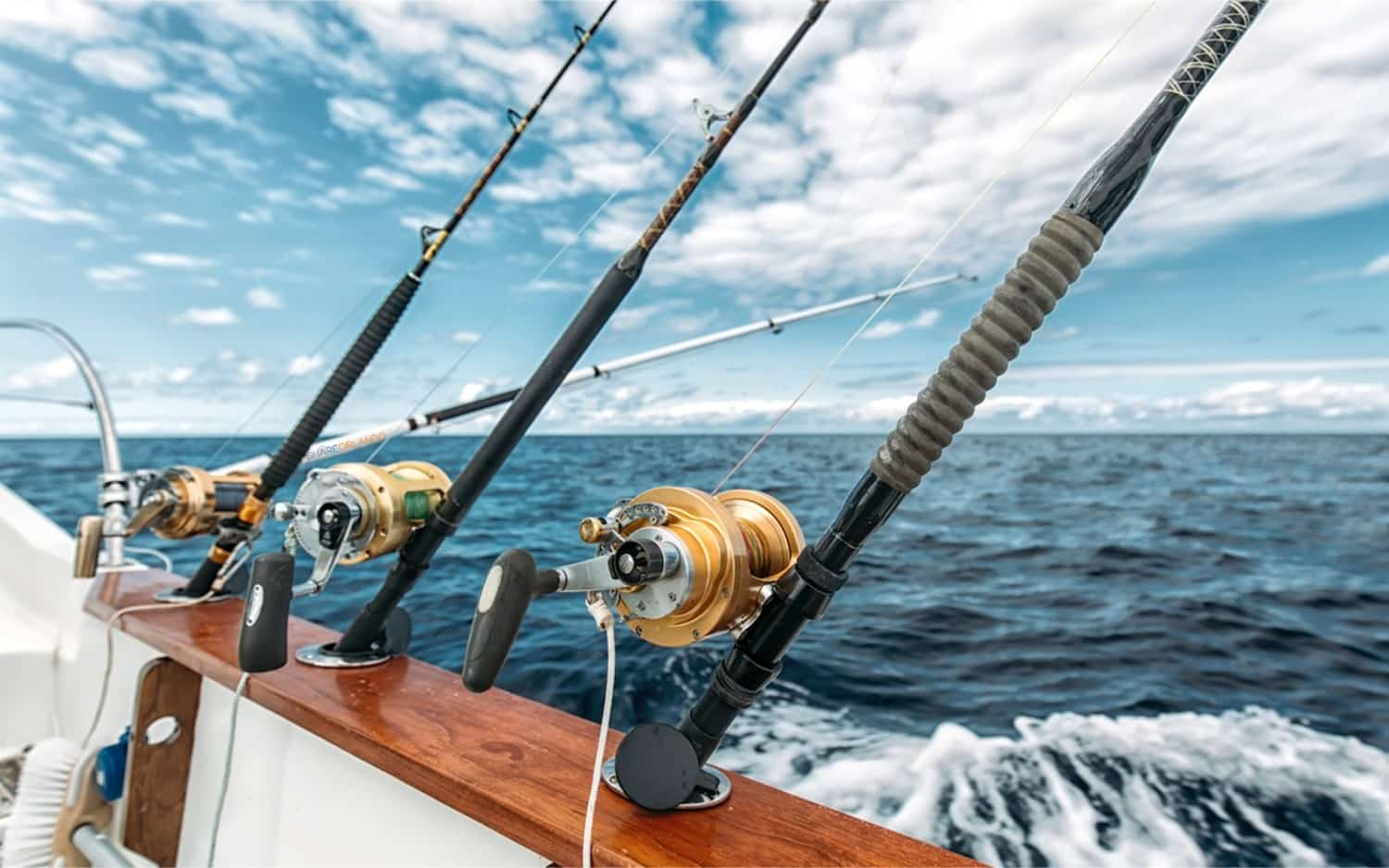 Deep sea fishing equipment for Ocean fishing gear