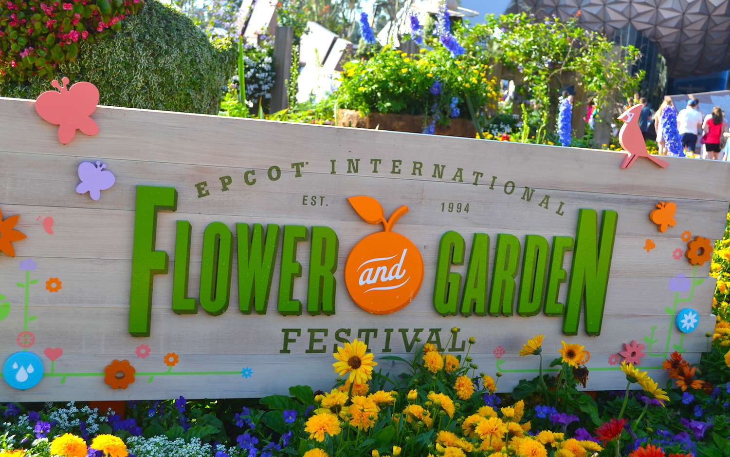 EPCOT's International Flower and Garden Festival 2015