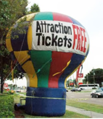 Attraction Ticket Advertising - Share-Orlando