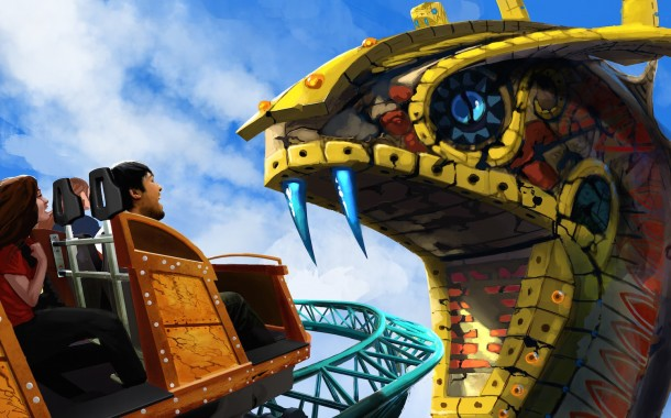 Busch Gardens Tampa Puts a Spin on Family Thrills in 2016