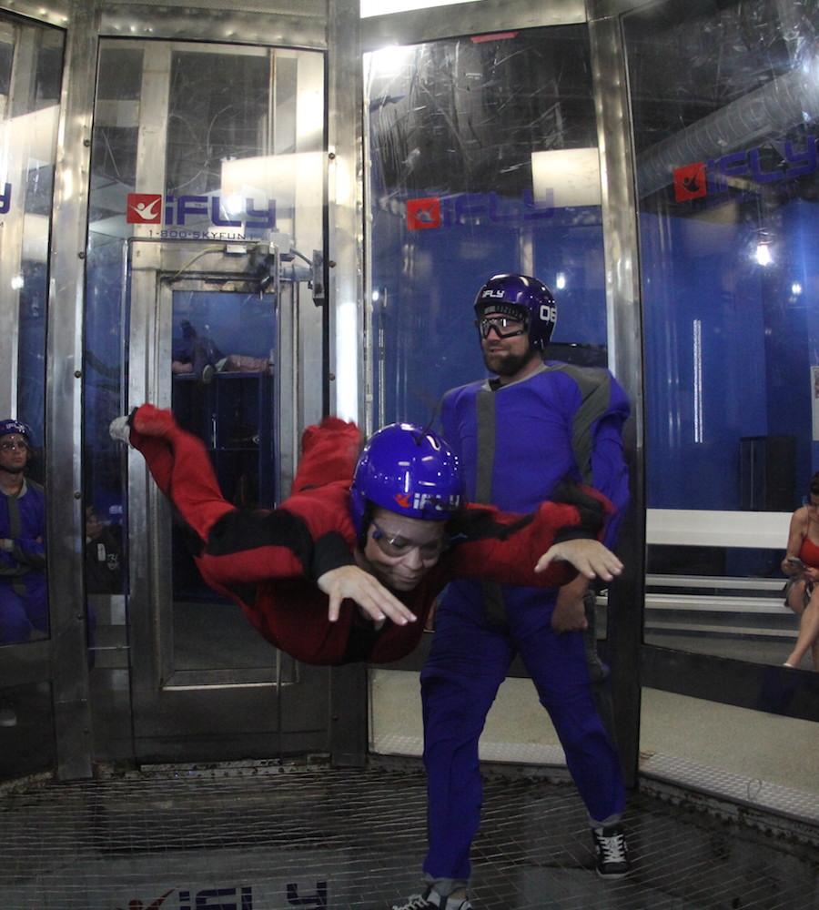 iFly Indoor Parachute - Share Orlando