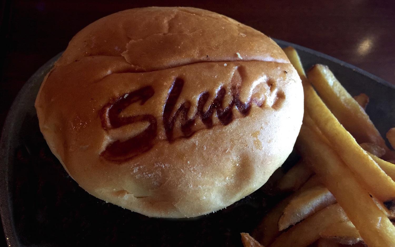 Shula Burger ... Don Shula Scores a TOUCHDOWN