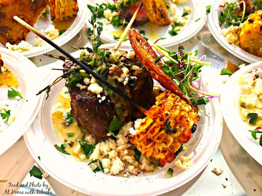 Food Fight Write - The Competition winning dish - ShareOrlando