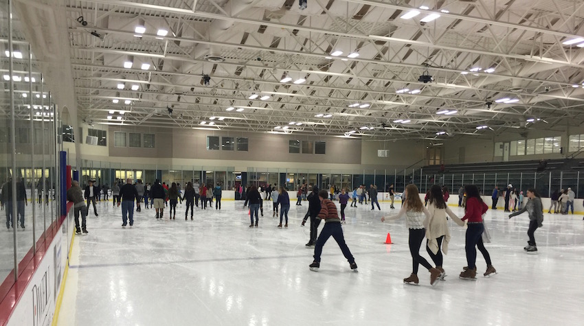 Ice Skating at RDV Sportsplex 06