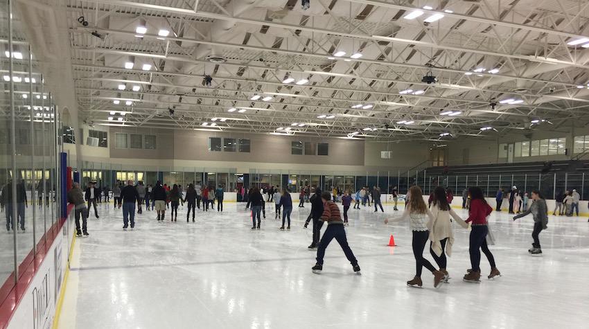 Ice Skating at RDV Sportsplex 06