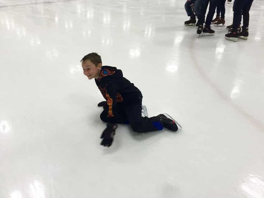 Ice Skating at RDV Sportsplex 09