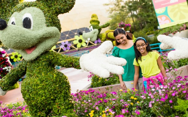 Epcot Flower and Garden Festival 2016