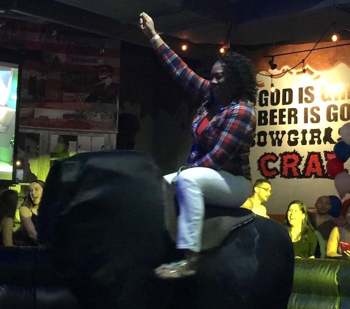 Cowgirls Rockbar Orlando - ShareOrlando Bull Ride 09