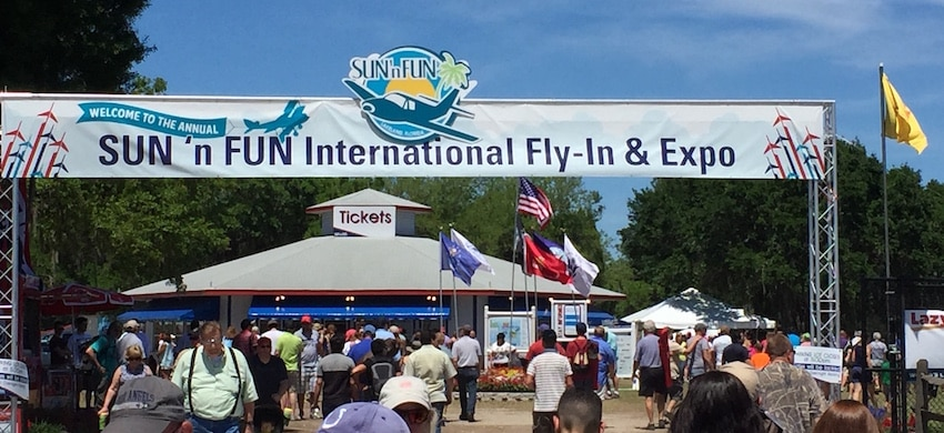 Sun n Fun Fly-In Expo - Lakeland - ShareOrlando 01