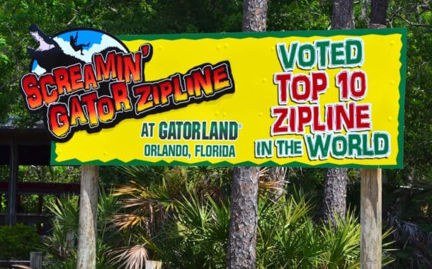 Screamin Gator Zip-line