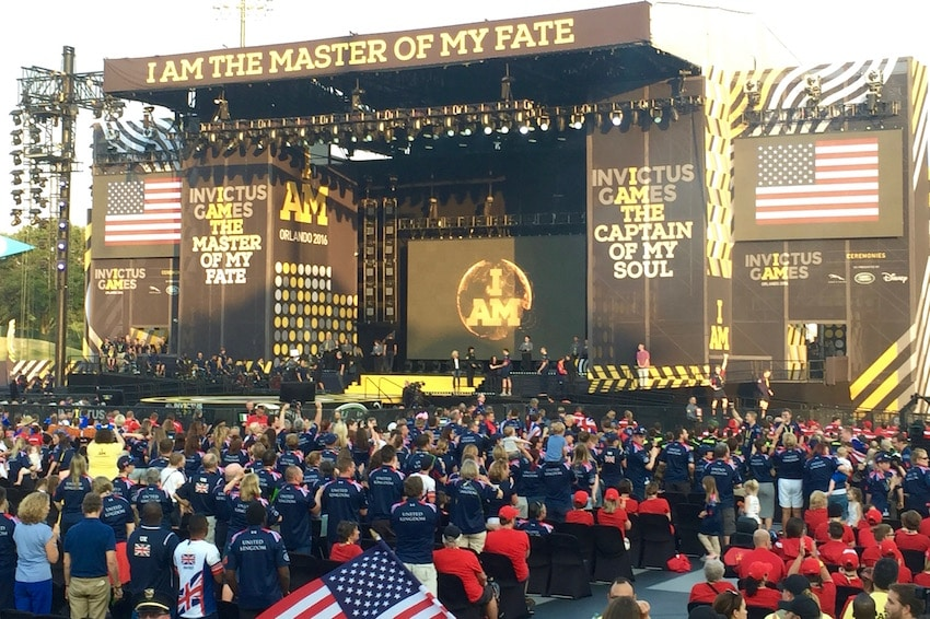 Invictus Games Orlando | Disney ESPN Wide World of Sports | ShareOrlando 09