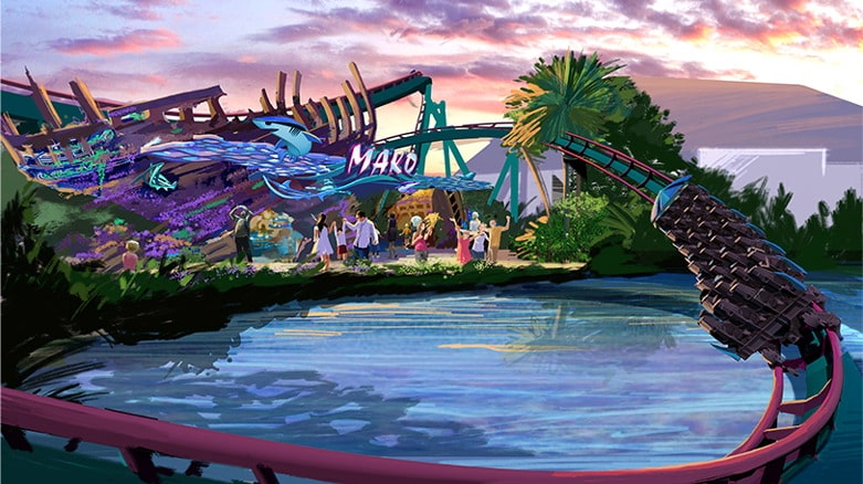 VIP Rides on SeaWorlds Newest Coaster Mako 01