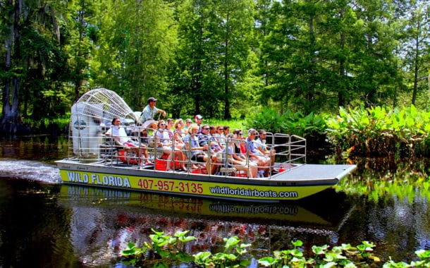 Wild Florida Airboat Tours Wildlife Park