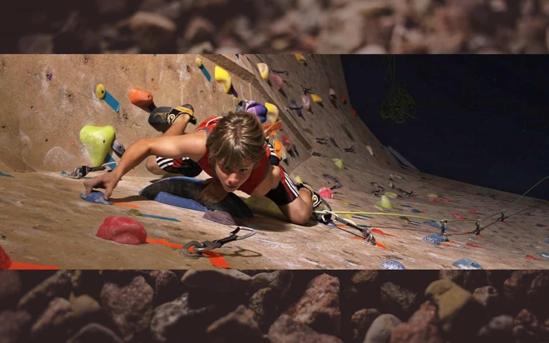 Climb To the Top at Aiguille Rock Climbing Center