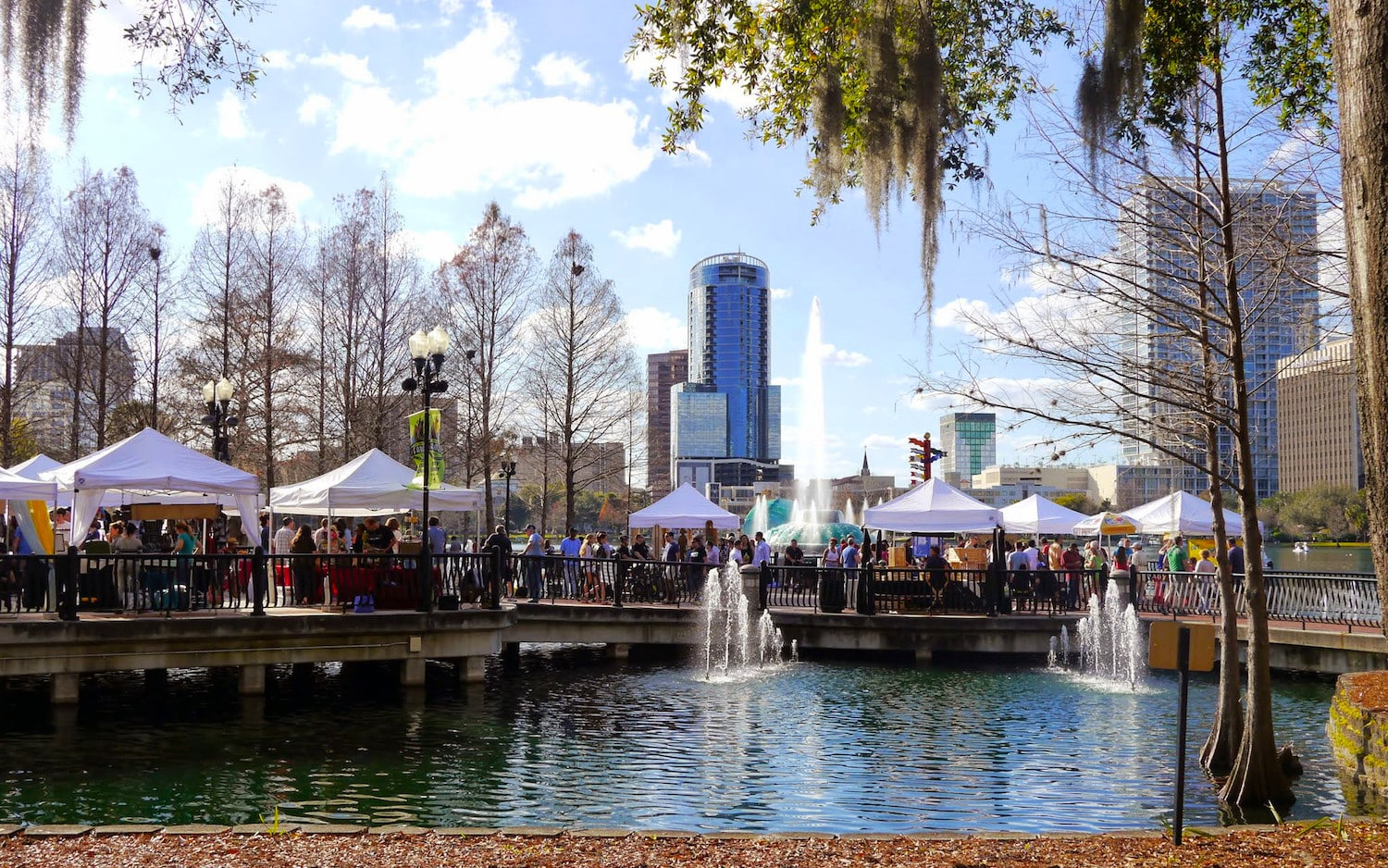 Lake Eola Farmers Market - Experience it!