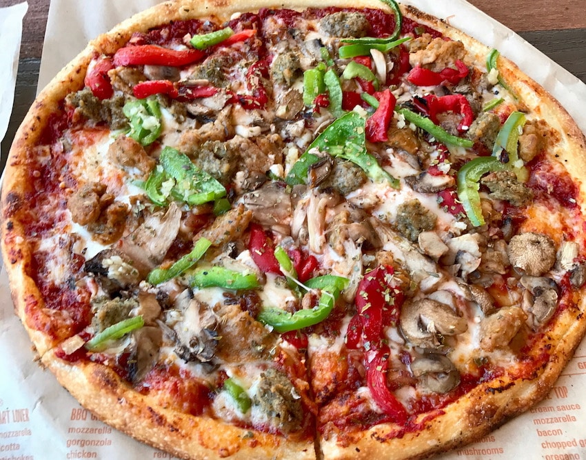 Blaze Pizza - Build Your Own - Disney Springs Review 9