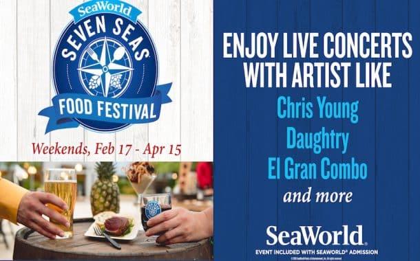 SeaWorlds Seven Seas Food Festival in Full Swing