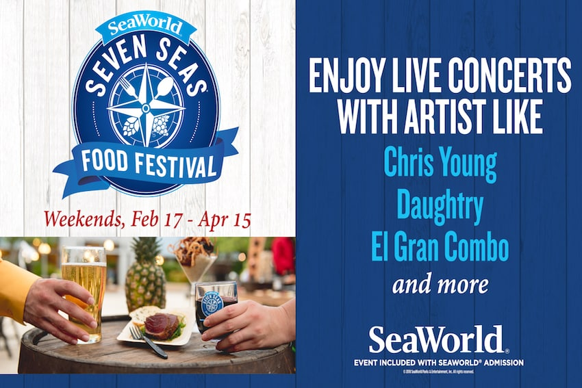 SeaWorlds Seven Seas Food Festival in Full Swing