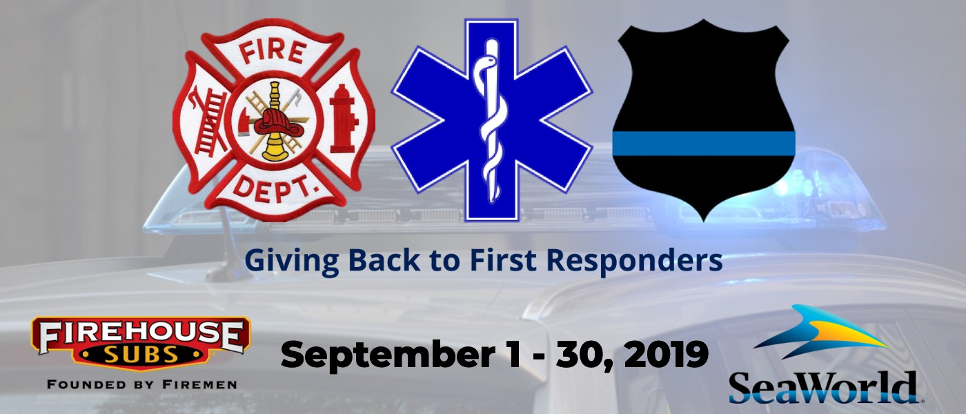 Firehouse Sub's Announcement for First Responders - 911 Operators